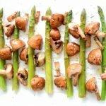 Groene asperges en vis pakketjes uit de oven of op de BBQ!