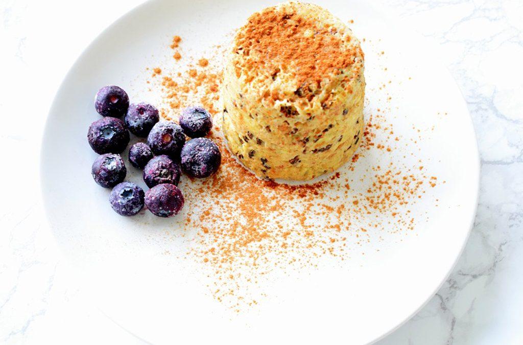 Mugcake for breakfast!