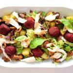Bieten falafel salade