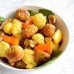Herfstachtige salade: gegrilde groente met couscous voor onderweg