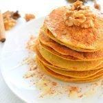 Fall pancakes: pompoen pannenkoeken