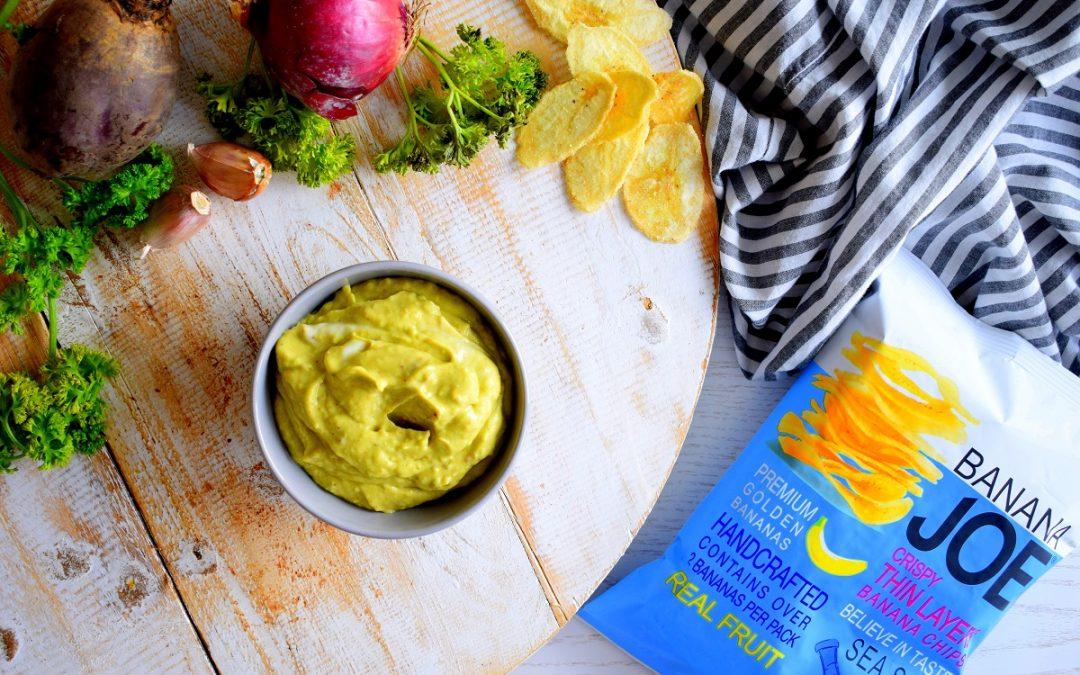Yoghurt dipsaus met avocado | Gezonde dipsaus maken | Healthy Wanderlust