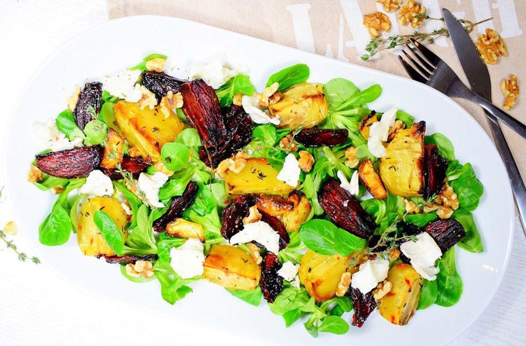 Bieten salade met geitenkaas | Salade recept | Healthy Wanderlust
