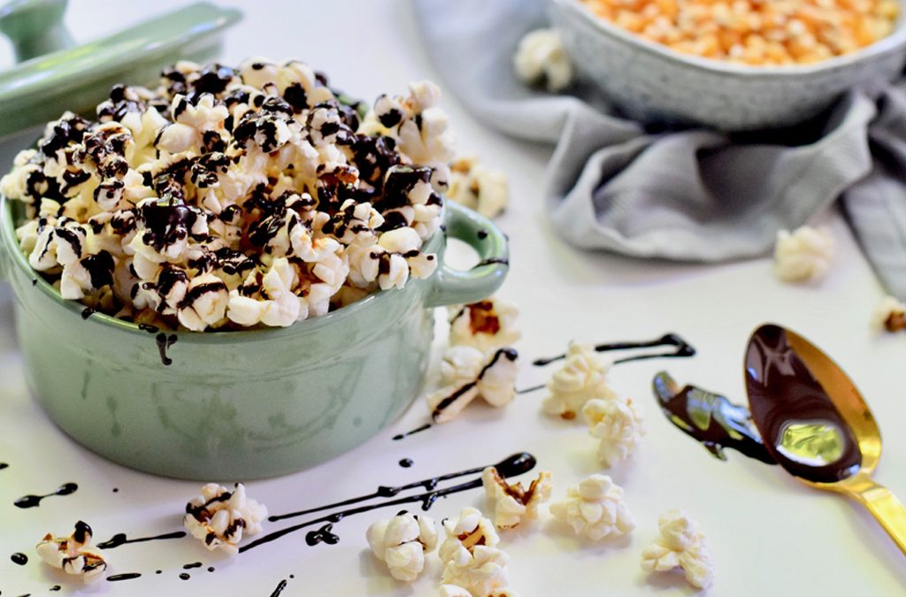 3 X POPCORN SNACKS – IT'S SNACK O'CLOCK!