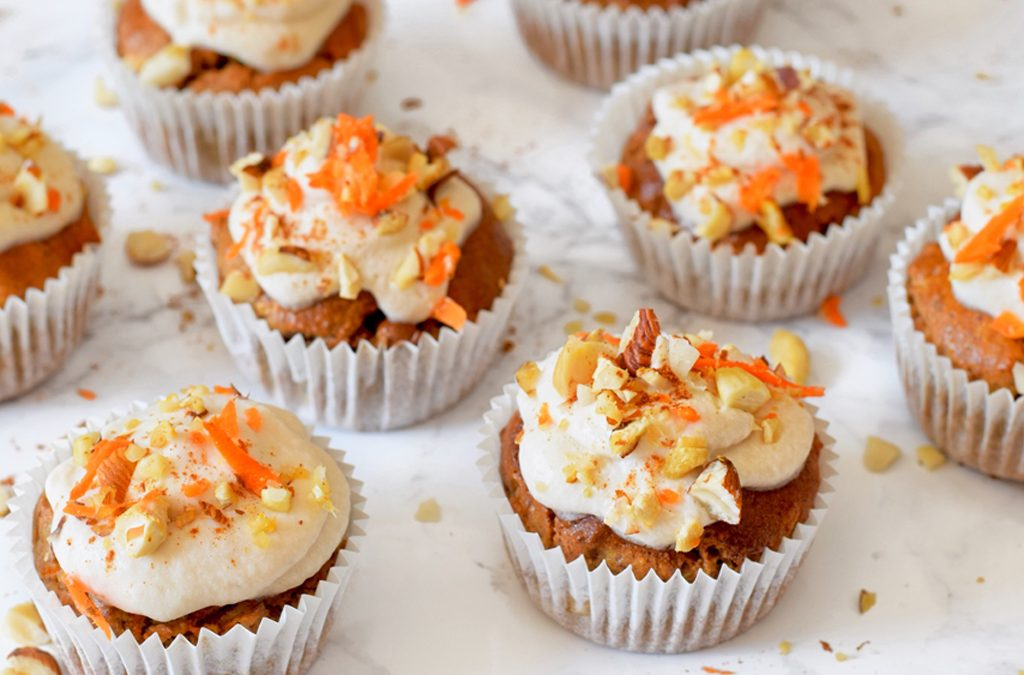 GEZONDE CARROT CAKE MUFFINS – PAAS IDEE!