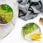 GREEN SMOOTHIE BOWL MET MANGO