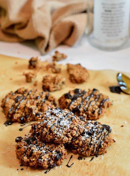 Kokos havermout koekjes | Zelf koekjes maken | Healthy Wanderlust