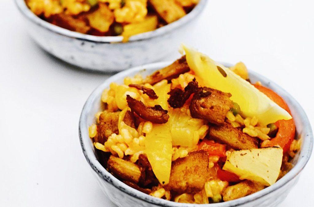 Vegan paella   Een heerlijk paella recept   Healthy Wanderlust