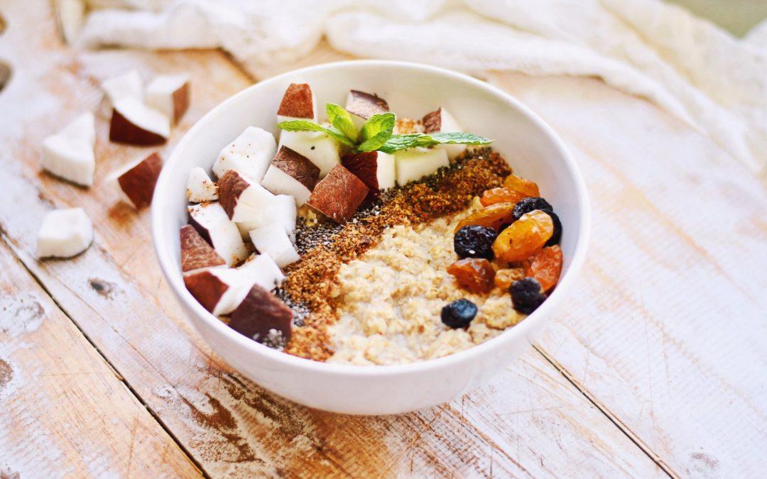 Eiwitrijk ontbijt | Kokos Havermout