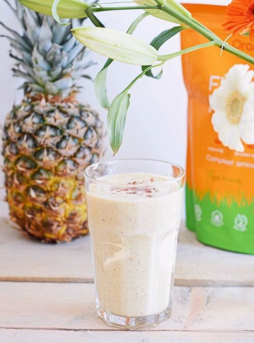 GEZONDE SMOOTHIE | ANANAS BANAAN SMOOTHIE