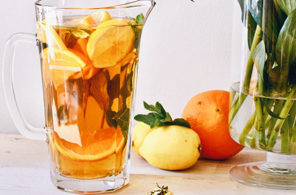 Gezonde iced tea recept | Healthy Wanderlust