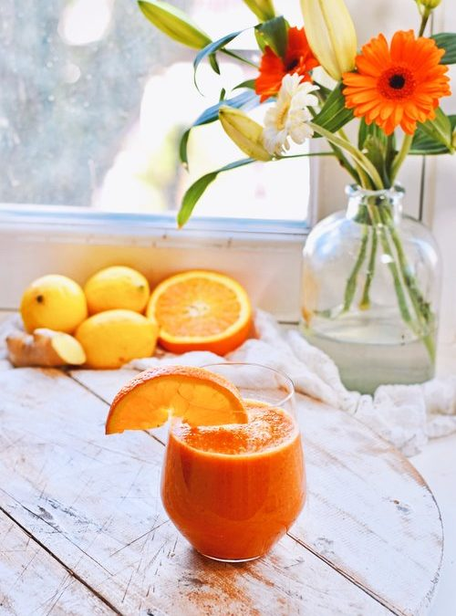 GINGER LEMON JUICE | BOOST YOUR HEALTH!
