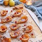 Gebakken peer als ontbijt of dessert