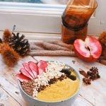 Pompoen smoothie bowl | Ontbijt recept