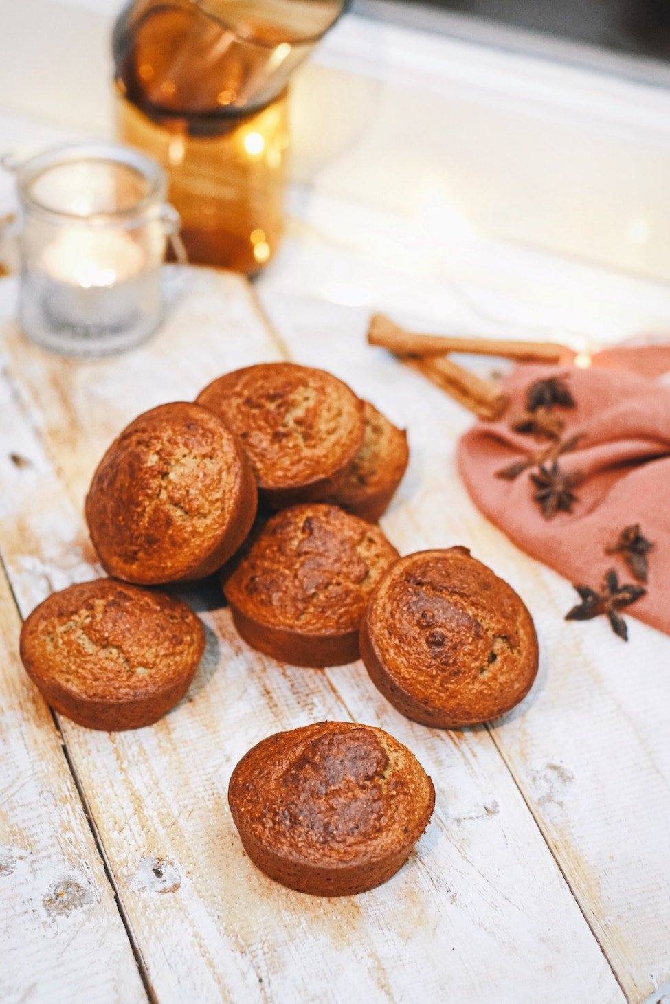 Gezonde speculaas muffins   Verantwoorde snack   Healthy Wanderlust