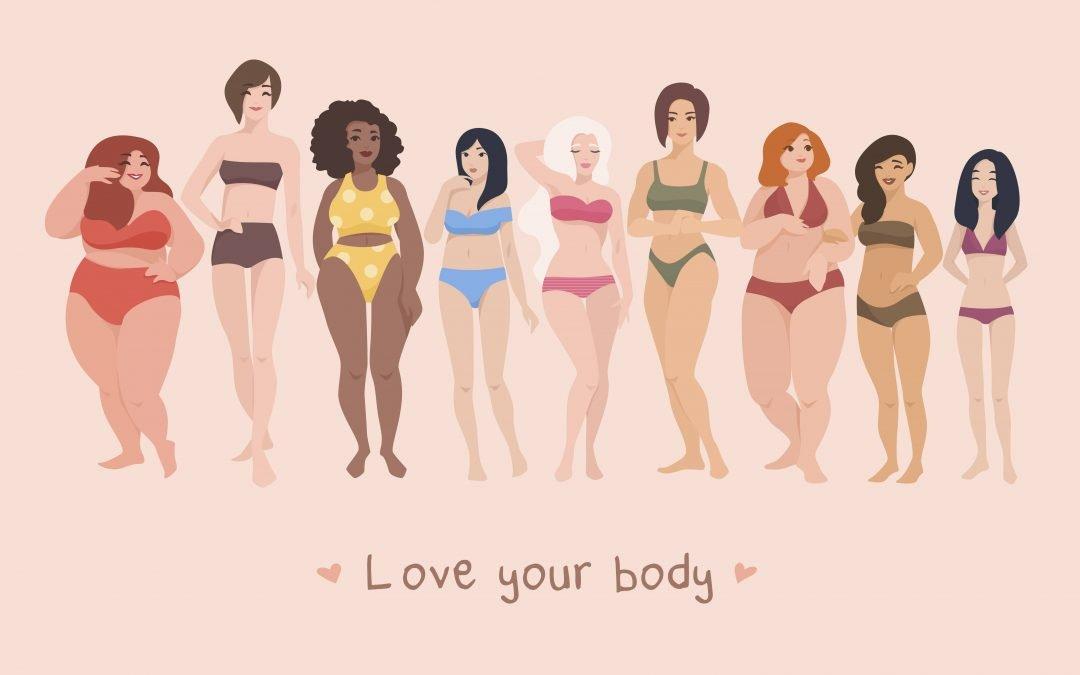 5 x meer van je lichaam houden | Body positivity