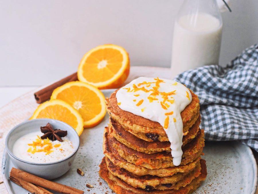 Recept voor pasen: carrot cake pannenkoekjes