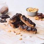 Eiwitrijke vegan snickers | Snack recept
