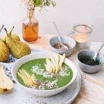 Spirulina smoothie bowl | Ontbijt recept