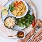 Recept voor vegetarische rendang