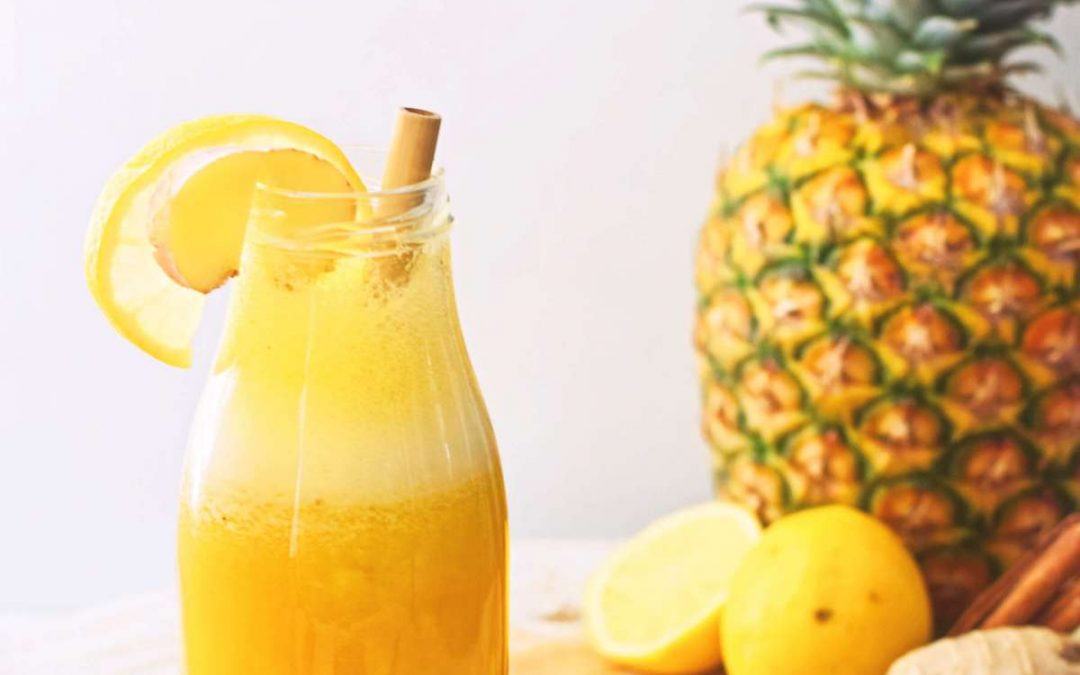 Citroen ananas smoothie