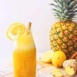 Citroen ananas smoothie