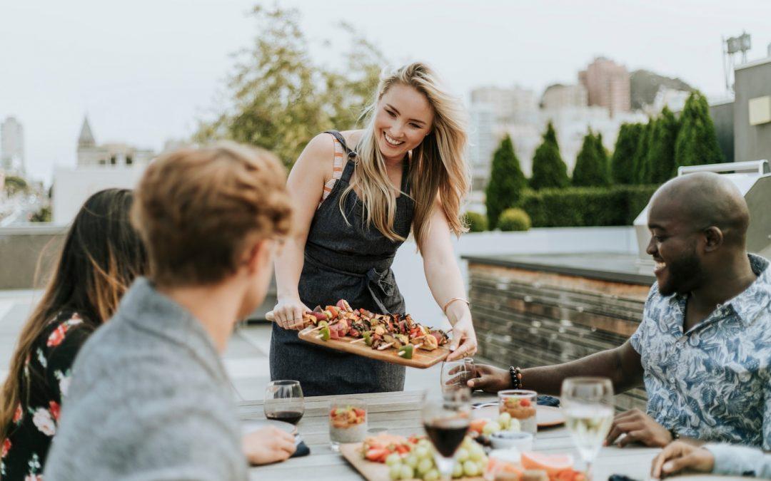 Het BBQ seizoen van 2019 met groente