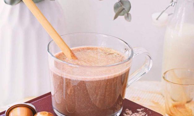 Gezonde ijskoffie smoothie | Lekker eiwitrijk