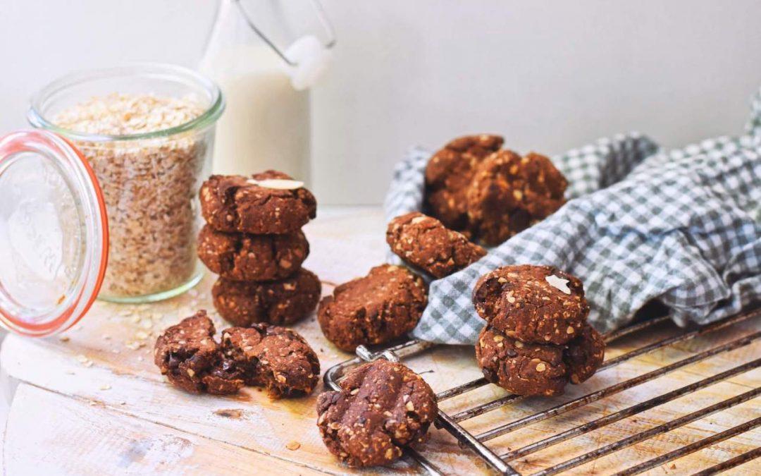 Makkelijke en gezondere chocolade koekjes