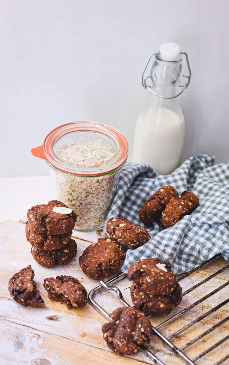 Makkelijke en gezondere chocolade koekjes | Verantwoord snacken