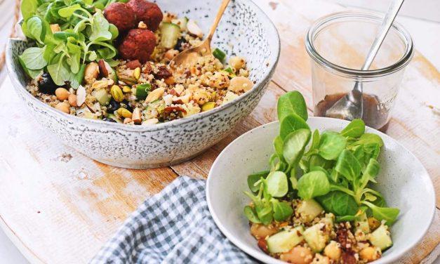 Zomerse quinoa salade met pistache nootjes
