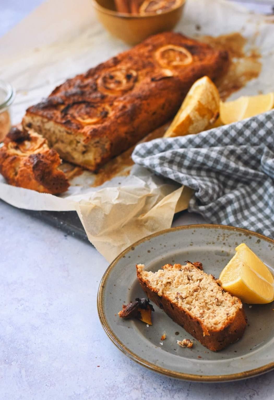 Citroen cake recept met kwark | Gezonder bakken