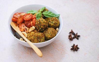 Lekker recept met falafel: mediterraanse bowl