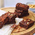 Brownies van kikkererwten | Gezonde brownies recept