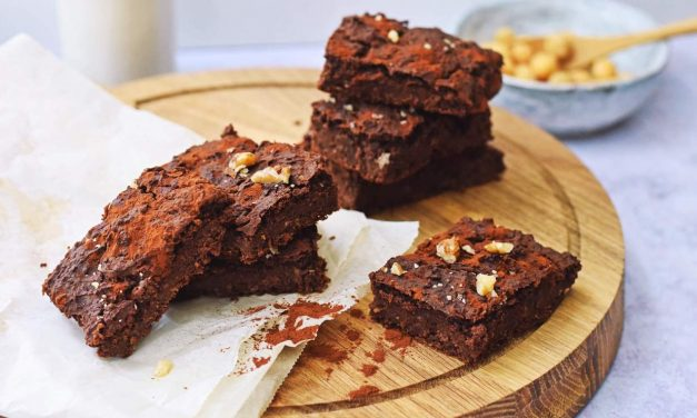 Brownies van kikkererwten | Gezonde brownies recept