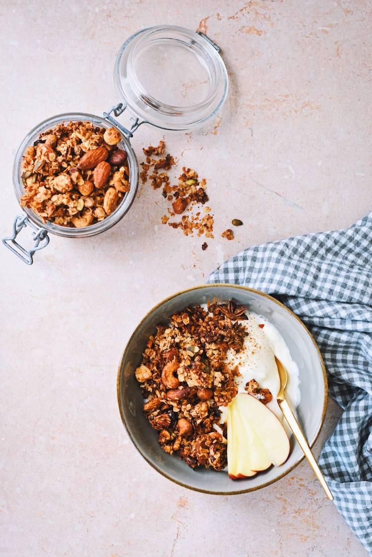 Gezonde granola voor de herfst | Zelf granola maken in 5 stappen