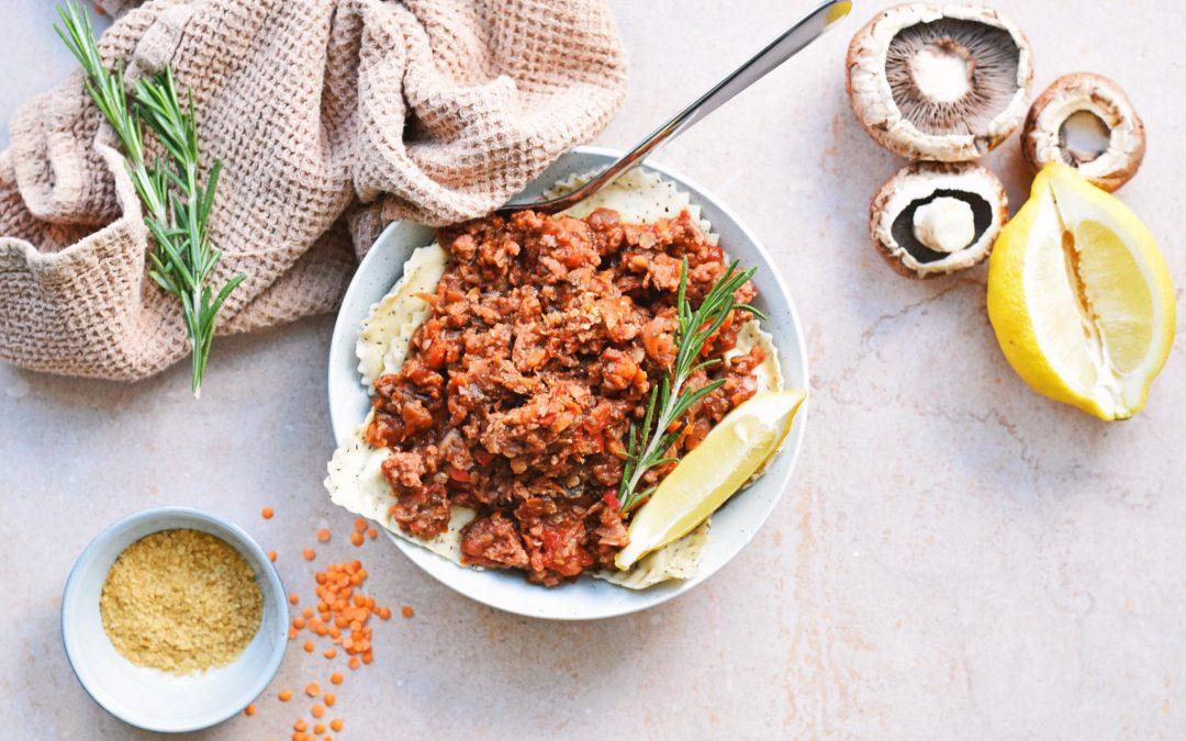 Vegan pasta bolognese | Super lekker en gezond!