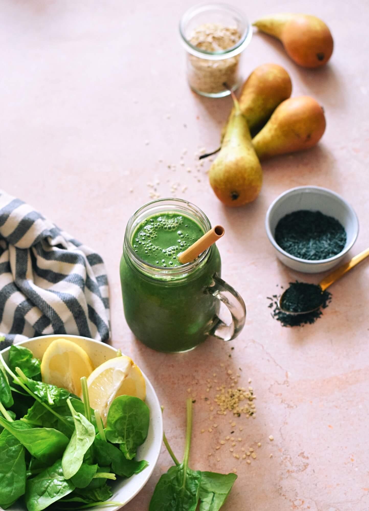 Makkelijke smoothie met spirulina
