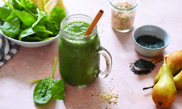 Makkelijke smoothie met spirulina die zoet smaakt | Voedzaam en vegan recept